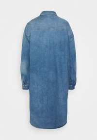 MM6 Maison Margiela - Denim dress - medium cast/shadow - 1