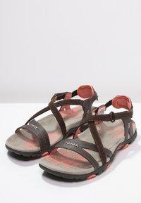 Merrell - SANDSPUR  - Walking sandals - earth - 2