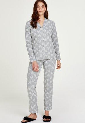 BOYFRIEND HEART - Pyjama set - grey