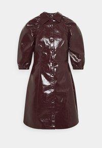 Glamorous Tall - LADIES DRESS  - Shirt dress - burgundy - 4