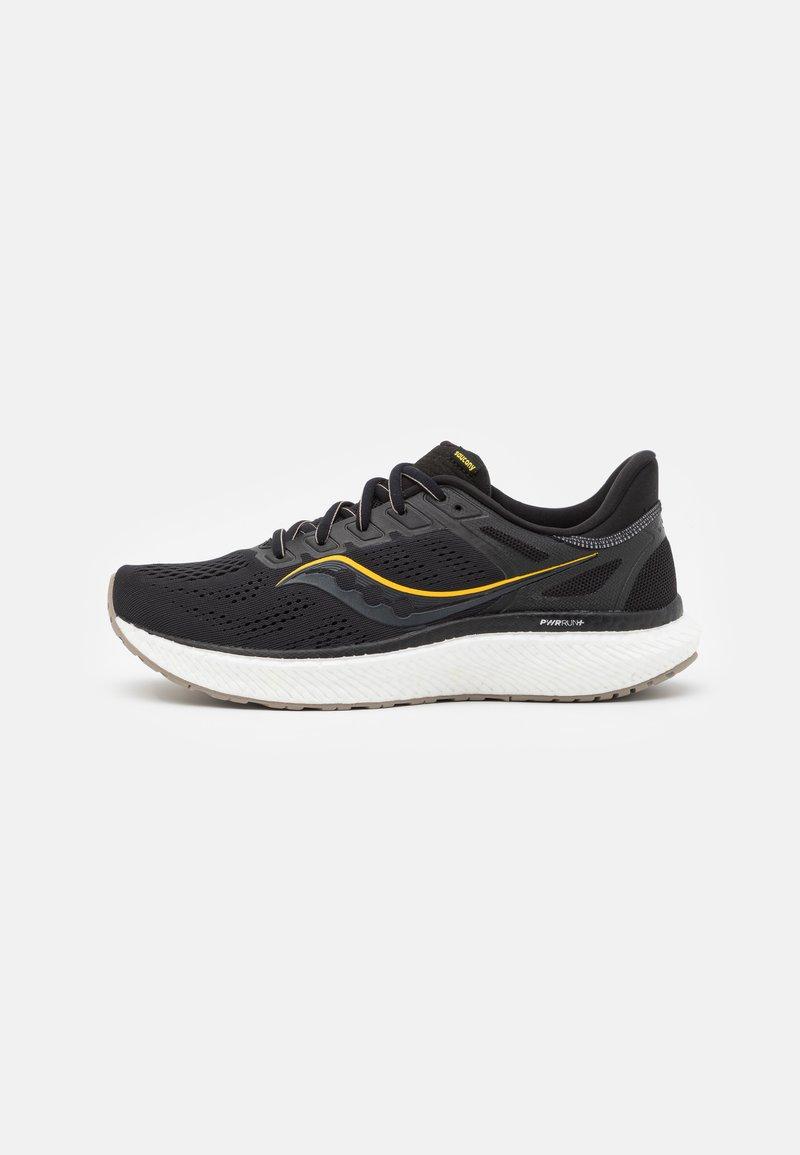 Saucony - HURRICANE 23 - Stabilty running shoes - black/gold