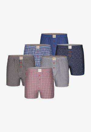 6 PACK  - Boxershort - blue,grey