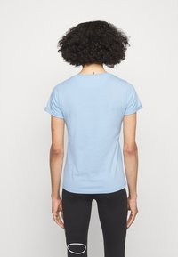 HUGO - THE SLIM TEE - Triko s potiskem - light pastel blue - 2