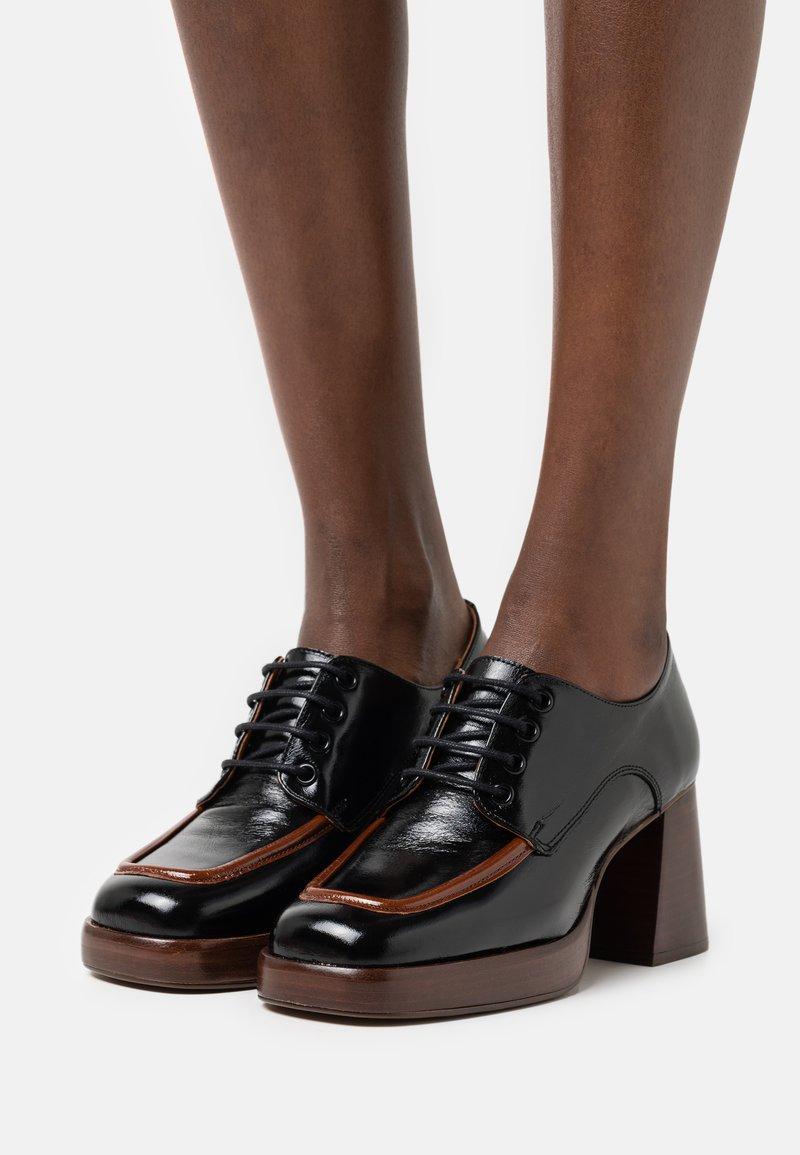 Jonak - BOPHA - Lace-up heels - brillant noir