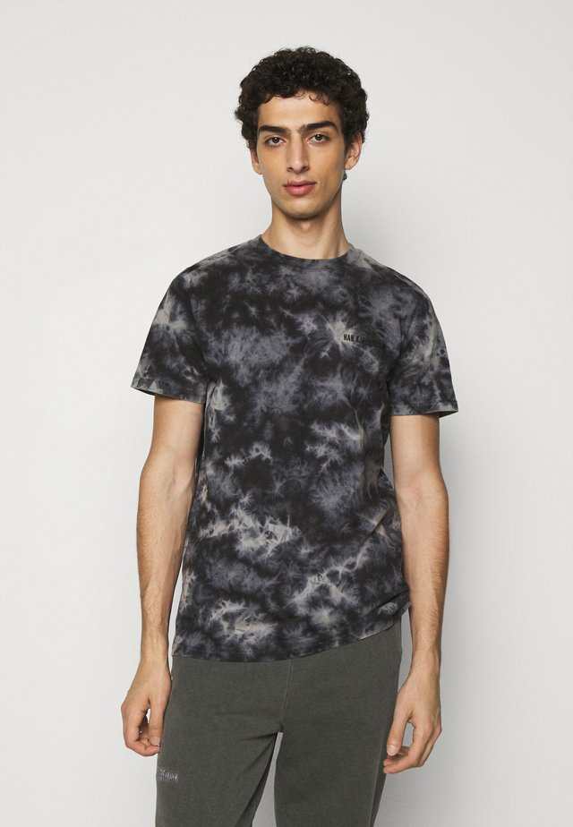 CASUAL TEE - T-shirt con stampa - black acid