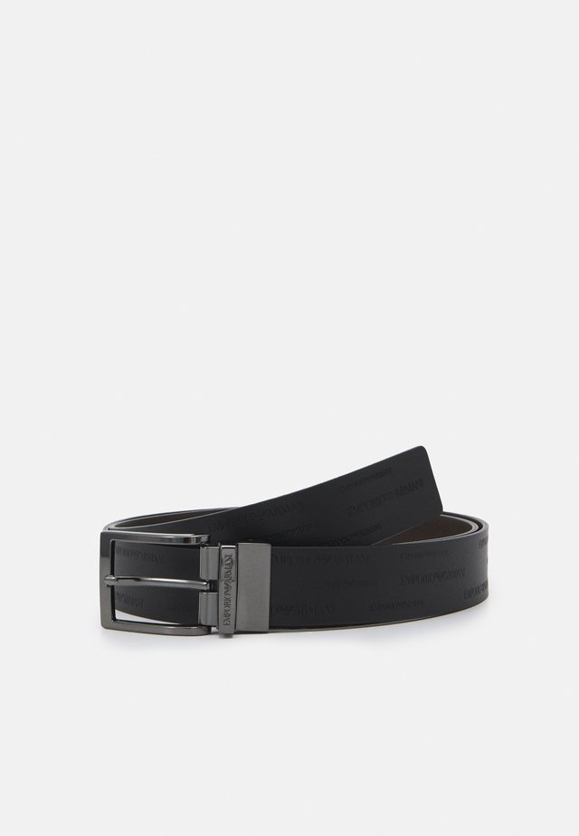 FASHION BELT - Pásek - dark brown
