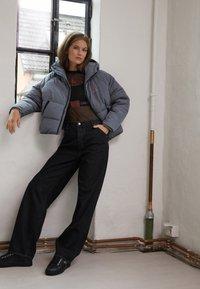Calvin Klein Jeans - BIG LOGO PUFFER - Winter jacket - shining armor - 1