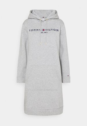HOODIE DRESS - Day dress - light grey heather