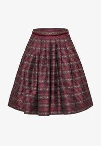 Spieth & Wensky - A-line skirt - dunkelrot - 6