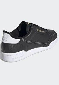 adidas Originals - CONTINENTAL 80 SHOES - Trainers - black - 4