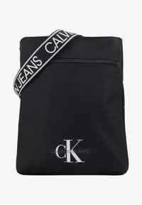Calvin Klein Jeans - FLATPACK - Across body bag - black - 1