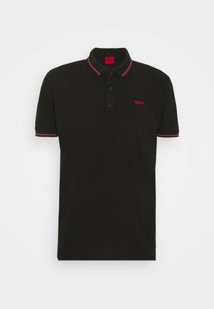 DINOSO - Koszulka polo - black