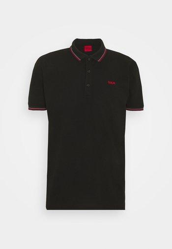 DINOSO - Polo - black