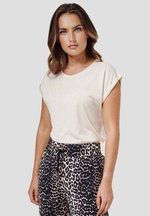DENIZ - Basic T-shirt - new beige