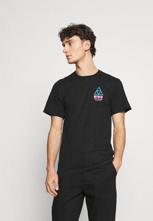 VIDEO PARADISE TEE - T-shirt imprimé - black