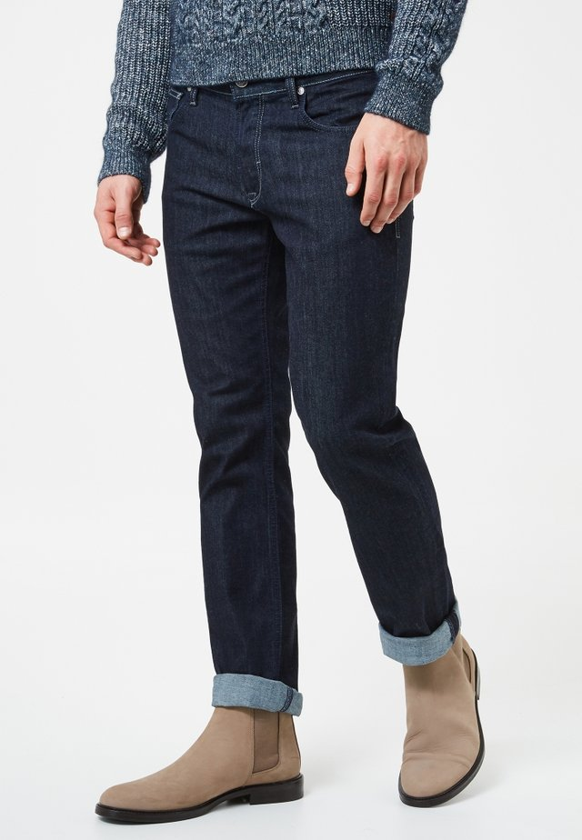 JOHN - Straight leg jeans - rinsed denim