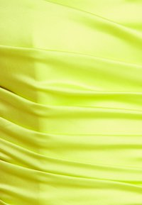Missguided - ROUCHED SLEEVELESS CROP - Top - lime - 2