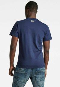 G-Star - STITCH DETAIL POCKET - T-shirt basic - warm sartho - 1