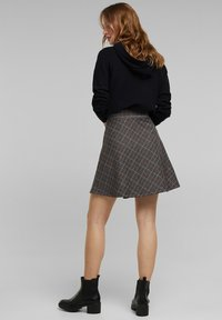 edc by Esprit - A-line skirt - anthracite - 2