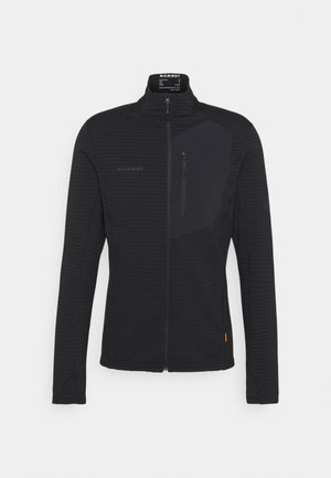 ACONCAGUA LIGHT JACKET MEN - Fleece jacket - black