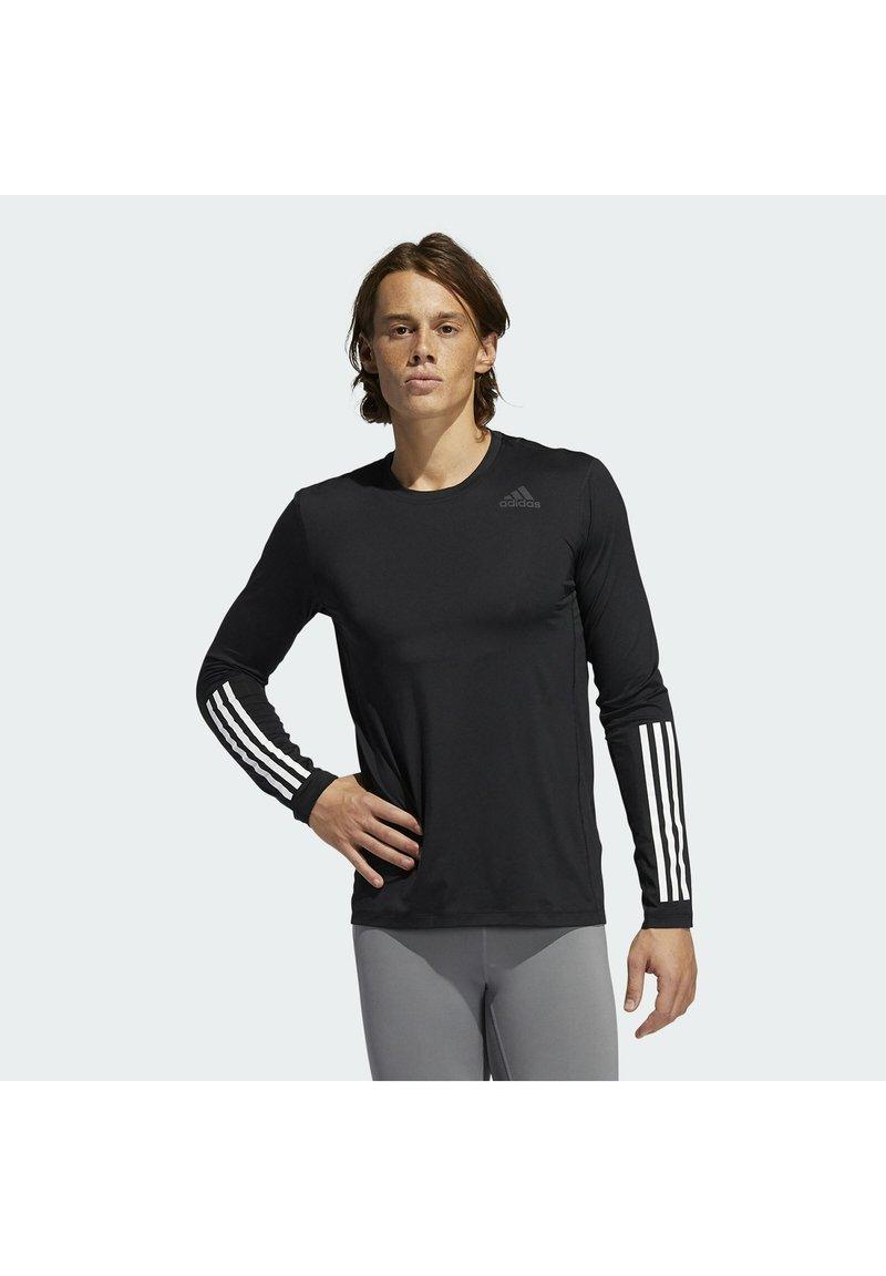 adidas Performance - Long sleeved top - black