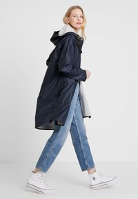 Ilse Jacobsen - TRUE RAINCOAT - Parkatakki - dark indigo - 1