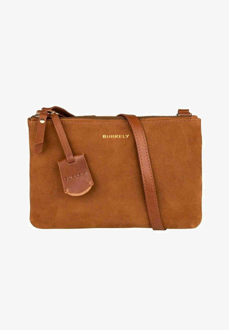 Burkely - SOUL SKYE - Across body bag - cognac