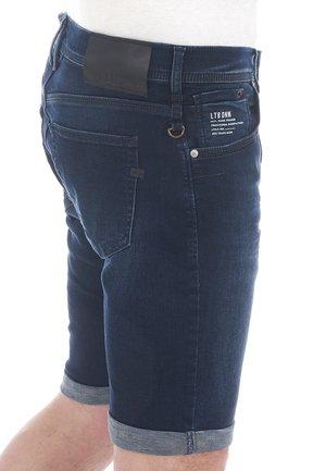 CORVIN - Denim shorts - dark-blue denim