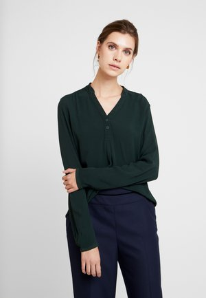 LANGARM - Blouse - dark green
