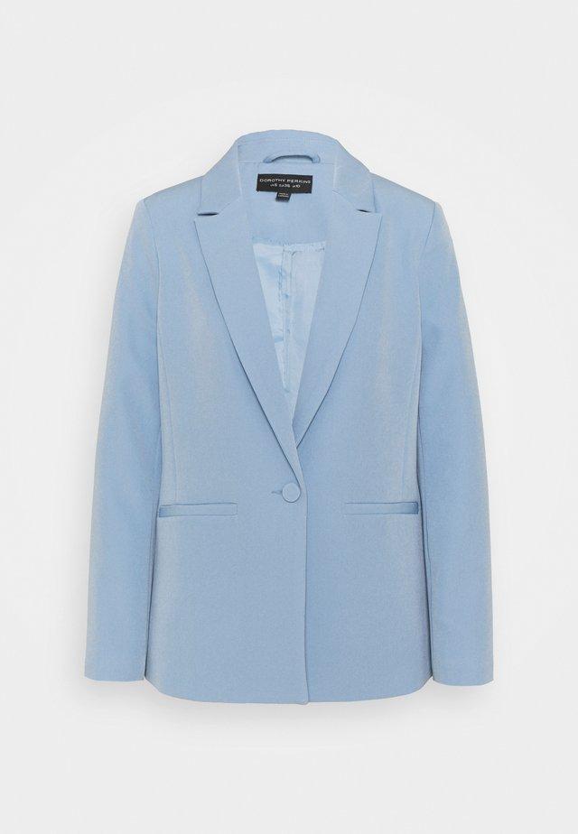 CORNFLOWER SINGLE BREASTED JACKET - Blazer - blue