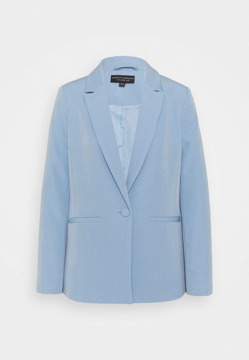 Dorothy Perkins - CORNFLOWER SINGLE BREASTED JACKET - Blazer - blue