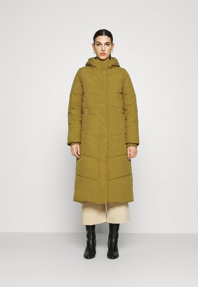 DEMI - Winter coat - dark ochre