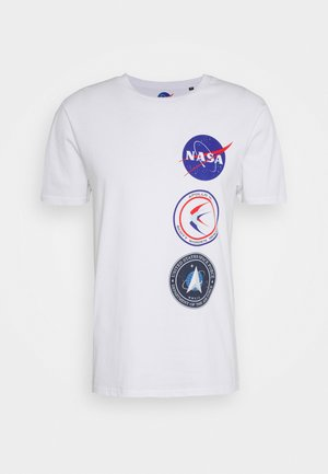 NASA LICENSE UNISEX - Print T-shirt - white