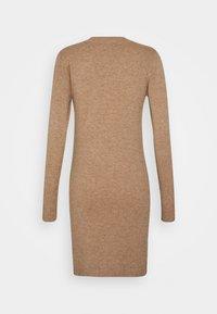 Object Petite - OBJTHESS DRESS  - Jumper dress - chipmunk melange - 1
