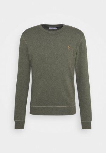 TIM CREW - Sweatshirt - evergreen marl