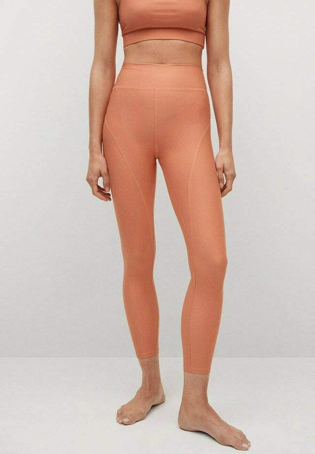 Leggings - pfirsich