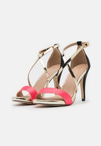 Menbur - High heeled sandals - coral - 2