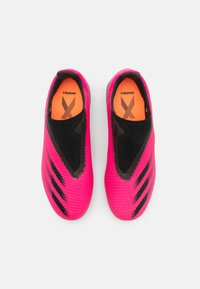 adidas Performance - X GHOSTED.3 LL FG UNISEX - Moulded stud football boots - shock pink/core black - 3