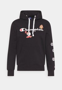 HOODED NINTENDO - Sweatshirt - black