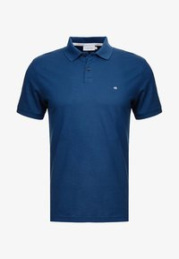 Calvin Klein - REFINED LOGO SLIM FIT - Polo shirt - blue - 3