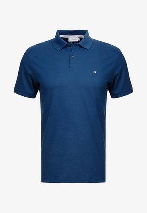 REFINED LOGO SLIM FIT - Polo - blue
