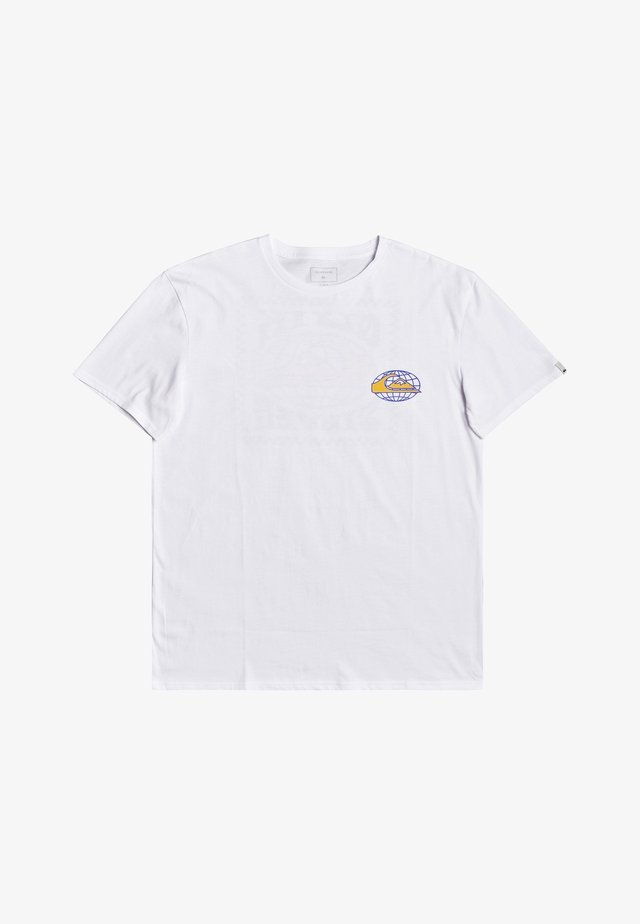 ROCK N STORMY  - T-shirt print - white