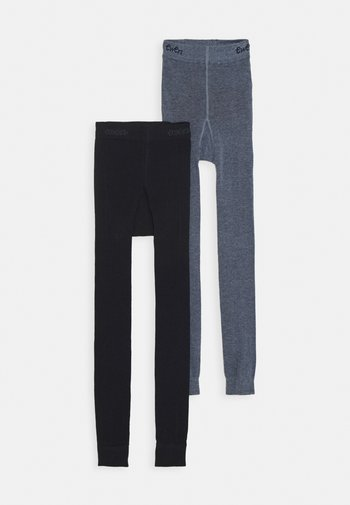 2 PACK - Legging - marine/phlox
