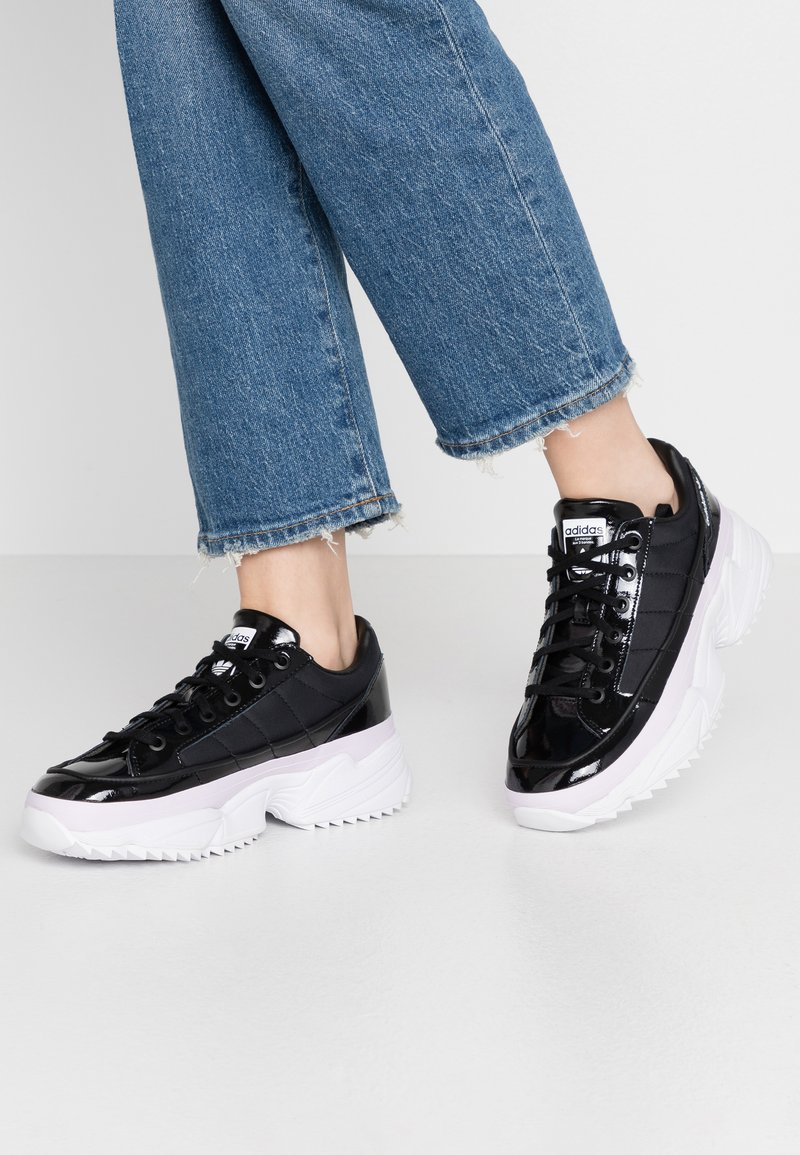 adidas Originals - KIELLOR  - Trainers - core black/purple tint
