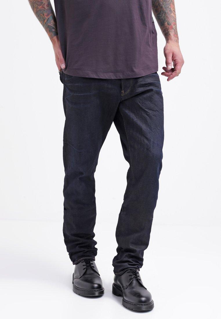 G-Star - 3301 TAPERED - Jeans Tapered Fit - dark-blue denim
