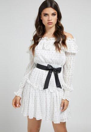 ALESSIA  - Day dress - mehrfarbig  weiß