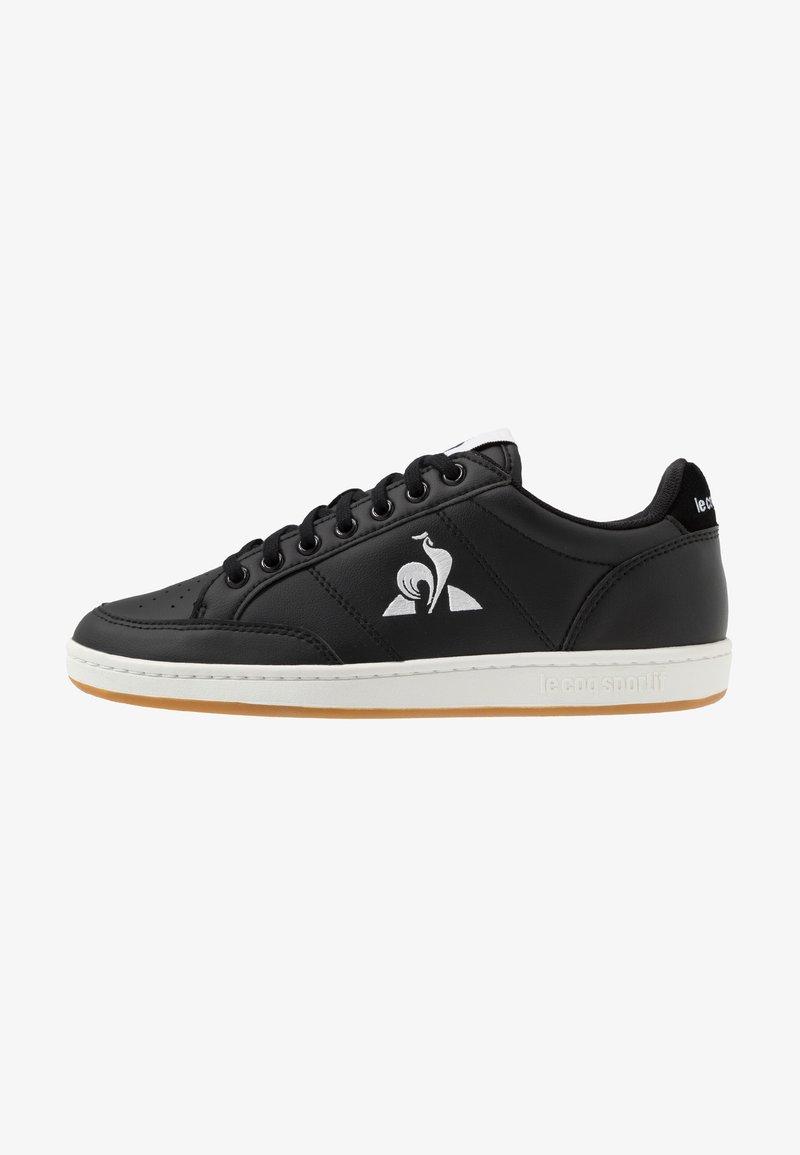 le coq sportif - COURT CLAY BOLD - Zapatillas - black