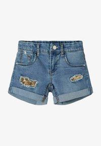 Name it - Jeans Shorts - medium blue denim - 0