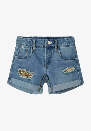 Jeans Short / cowboy shorts - medium blue denim