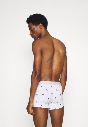 ICON TRUNK 7 PACK - Pants - black/grey/white/blue